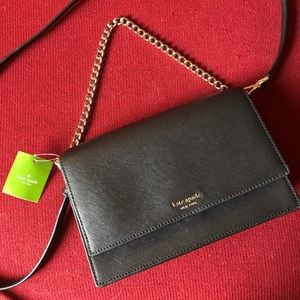 Kate Spade Black Convertible Crossbody
